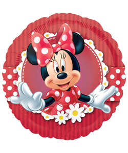 "Minnie Mouse Foil Balloon - 17"""