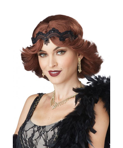 20s Glitz and Glamour Brunette Wig