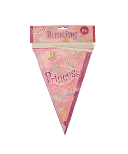 Princess Flag Bunting - 10m