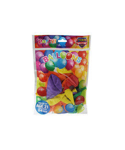Happy 21st Birthday Balloons - 24 Pack
