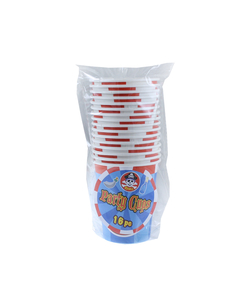 Pirate Party Paper Cups - 16 Pack