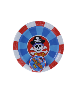 "9"" Pirate Paper Plates - 16 Pack"