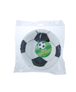 "7"" Football Party Paper Bowls - 16 Pack"