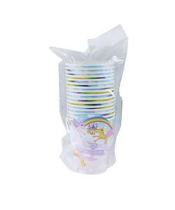 Unicorn Party Paper Cups - 16 Pack