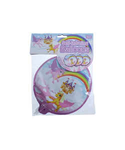 Unicorn Self Inflating Balloon - 3 Pack