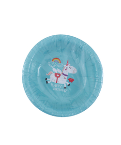 Unicorn Paper Party Bowl - 16 Pack