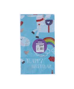 Unicorn Happy Birthday Tablecover