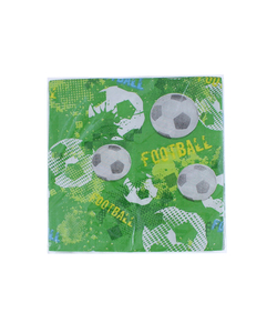 Football Pape​r Napkins - 16 Pack​