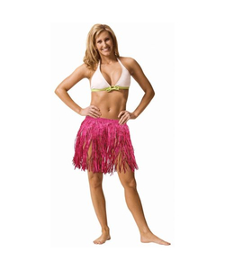 Pink Grass Mini Skirt - Large Adult