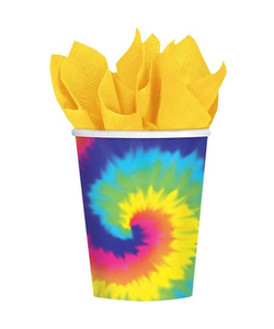 Feeling Groovy Party Paper Cups - 8 Pack