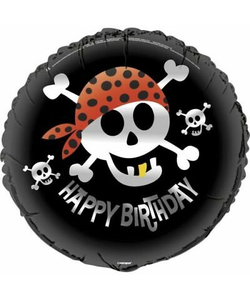 Pirate Fun Happy Birthday Balloon - 18""