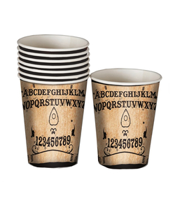 Ouija Board Paper Cups - 8 Pack
