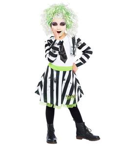 Beetlejuice Tween - Girl Costume