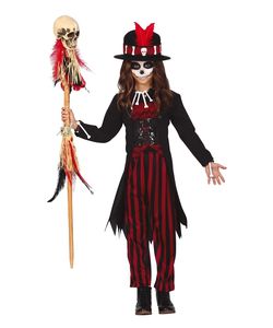 Voodoo Priest Costume - Teen