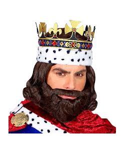Medieval King Wig Set