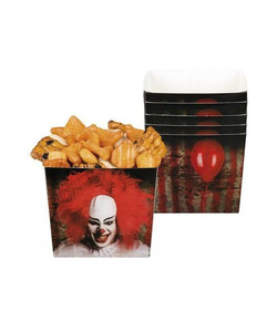 Horror Clown Paper Trays - 6 Pack