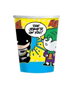 Batman v Joker Paper Cups - 8 Pack
