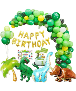 Dinosaur Birthday Party Decorations 214 pcs