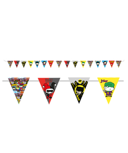 DC Justice League Bunting - 3.3M