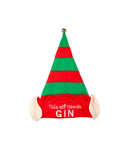 This Elf Need Gin- Christmas Hat