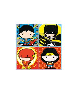 Justice League Napkins - 16 Pack