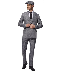 Suitmeister 20's Gangster Grey Suit