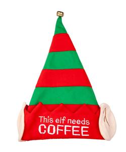 This Elf Need Coffee - Christmas Hat