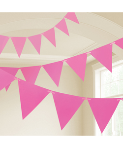 Pink Party Bunting - 10m
