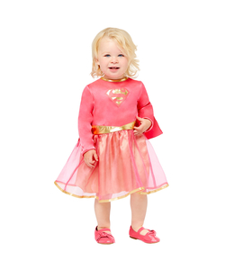 Pink Supergirl Costume - Toddler