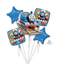 Thomas The Tank Engine Foil Balloon Bouquets