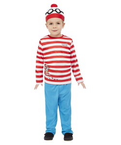 Where's Wally? Toddler Costume