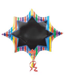 Write-on Supershape Foil Balloon