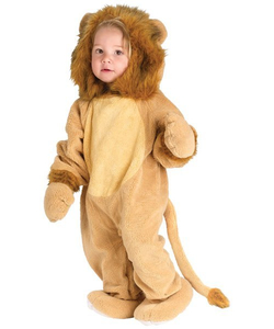 Plush Lion - Kids Costume