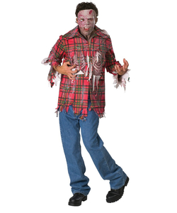 Plaid Boy Costume