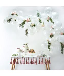 White Balloon Arch Kit - 70 Pieces