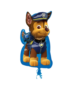 Paw Patrol Chase Super Shape Foil Balloons