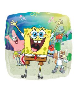 """Sponge-Bob Square-pants Foil Balloons - 17"""""""