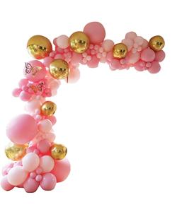 Macaron Balloons Garland & Arch Kit - 124 pcs