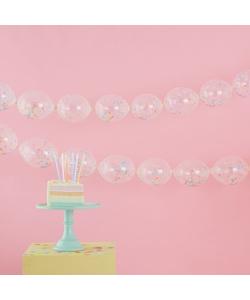Confetti Balloon Link Garland Kit - 24 Pieces