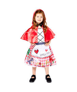 Little Red Riding Hood Sustainable Costume - Kids