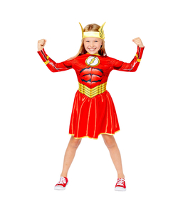 The Flash Girl Sustainable Costume