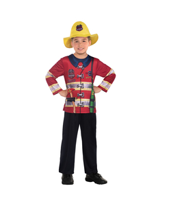 Fire Fighter Sustainable Costume - Kids