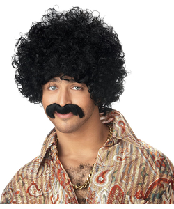 """""""How You Doin"""" Wig And Moustache"""