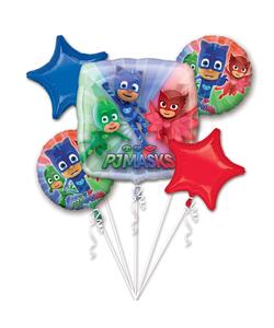 PJ Masks Foil Balloon Bouquets