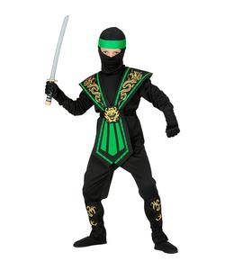 Green Kombat Ninja - Kids