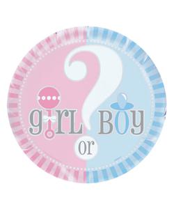 """Gender Reveal Foil Balloon - 18"""""""