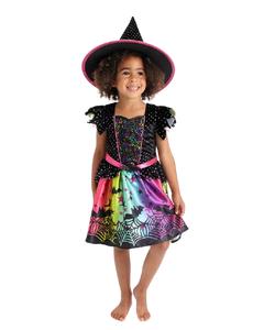 Glitter Witch Costume - Kids