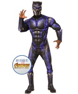 Deluxe Black Panther Battle Costume