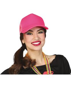 Neon Pink Cap