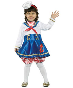Toddler Sailor Navy Girl